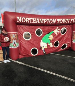 Cobblers Giant Inflatable Goal