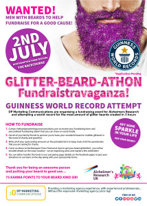 DP Marketing Glitter Beards
