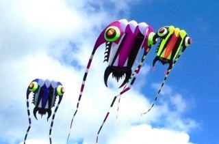 Close Encounters 3 kites